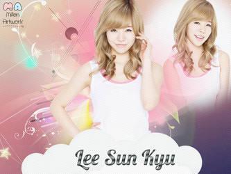 SNSD Sunny Wallpaper by LennSoshi