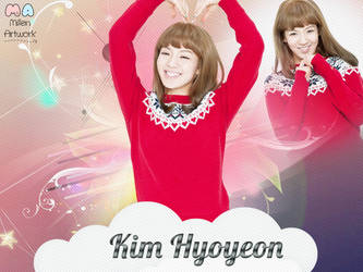 SNSD Hyoyeon Wallpaper by LennSoshi
