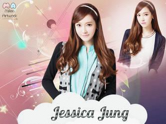SNSD Jessica Wallpaper by LennSoshi
