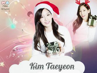 SNSD Taeyeon Wallpaper by LennSoshi