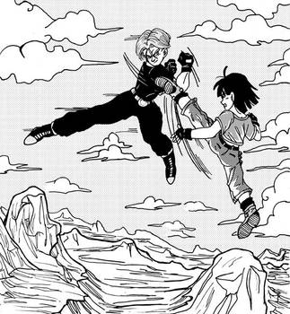 Trunks vs Pan by tp-forever-club