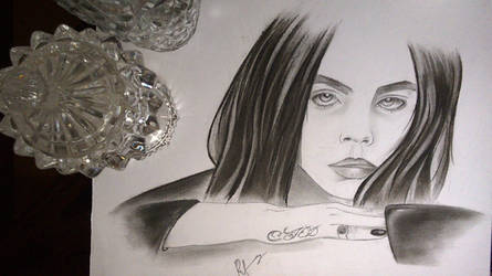 Cara Delevingne by razorx2