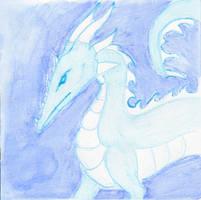 Ice Dragon by kamiki