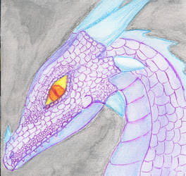 Purple Dragon by kamiki