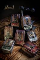 steampunk/victorian Belt-Bags by Aetherwerk