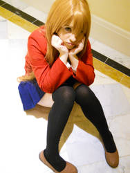 Forever Pouting Taiga by LitheCosplay