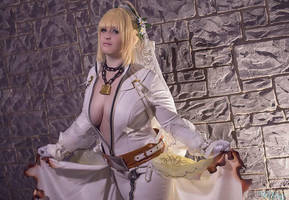 Unchained Bridal Saber - Katsucon 2 by LitheCosplay