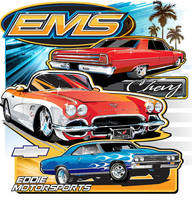 Chevy EMS t-shirt by darquem