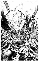Wolverine Mad Pencils by darquem