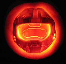 spartan pumpkin by qw3323