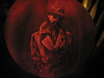 Rorschach Pumpkin by qw3323