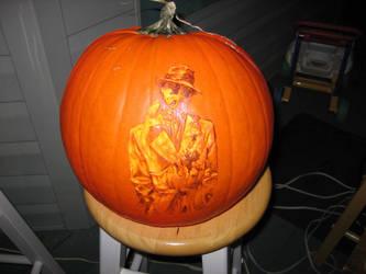 Untlit Rorschach Pumpkin by qw3323
