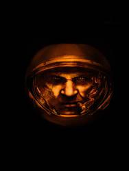 StarCraft II pumpkin 2010 by qw3323