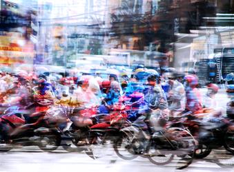 Saigon Street by PapaGolf54