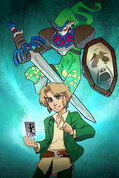 Link's Persona by GuilhermeRM