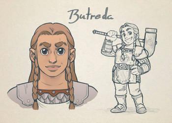 Butreda DnD by GuilhermeRM