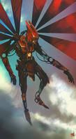 Steampunk Angel by Eaworks