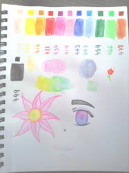 Watercolor pencil 1st attempt by Jelly187