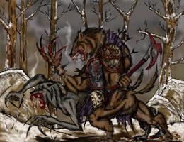 Werewolves by dlgothv