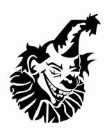 Evil clown by eagi