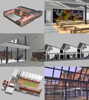A school in 3D by eagi
