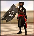 Blackbeard Cosplay - ''You Newbies'' by 6Silver9