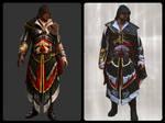 Ezio Auditore Cosplay - CosplayVSRender by 6Silver9
