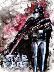 Star Wars: Captain Phasma by Greenleafs91