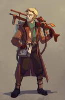 Steam protagonist 1 by Rhubarbarian