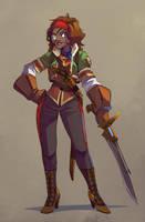 Steam protagonist 2 by Rhubarbarian