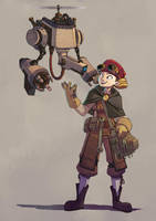 Steam protagonist 3 by Rhubarbarian
