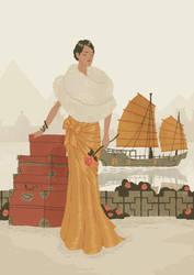 Travelling Ladies - Shanghai by benjaminography