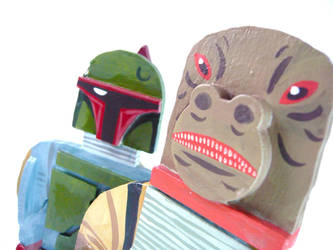 Bossk and Boba Fett by benjaminography