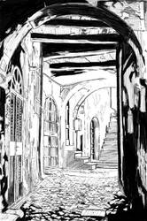Old World Street by Sketch64
