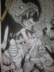 Viking Brawl by Ade-Nyungsep