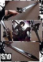 Kirito Sword - SAO by Hikuja