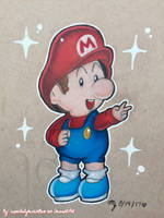 Super Red Baby Bro ~ by superbabymariolove