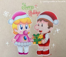 Happy Holidays! ~ by superbabymariolove