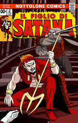 Marvel Comics' Son of Satan Mock Cover No. 2 by mrkayak