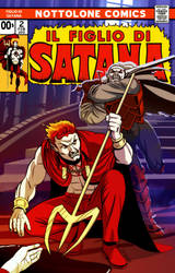 Son of Satan Mock Cover No. 2 REMASTERED by mrkayak