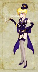 Burlesque-ish Sailor Uranus by CandyRobot