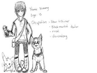Nimmy age 13 WIP by Nimyosa