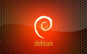Debian Orange by monkeymagico