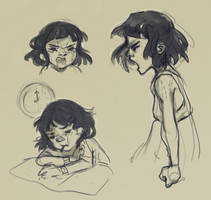 Angry Mia by Karoudrawws