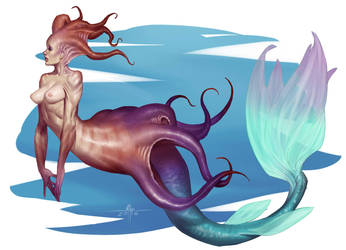 Mermaid by Mirthrynn