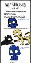 Warrior Cat Meme by Imnotgivingup