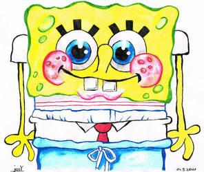 Spongebob [Ink] by JosYMovieS