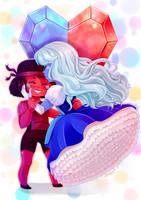 Crystal Hearts by Elfany-Chan