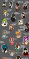 Adopted Characters Part 1 by AnnieFliesAway