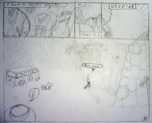 Search for Utopia - 1st sketch by woubuc